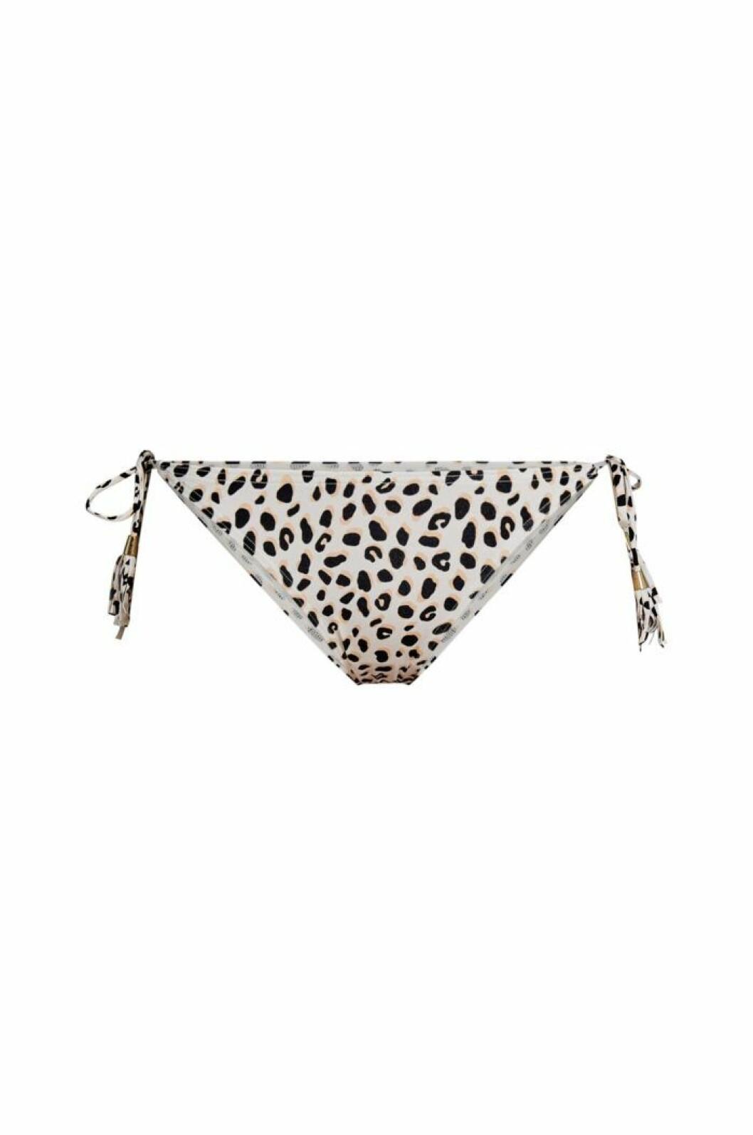 Bikinitrosor med leopardprint