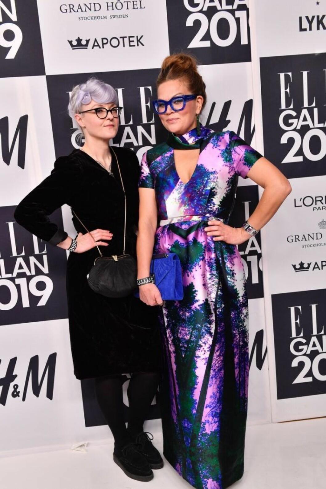 Designern Bea Szenfeld med sällskap