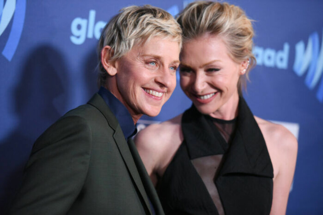 Ellen DeGeneres och Portia de Rossi