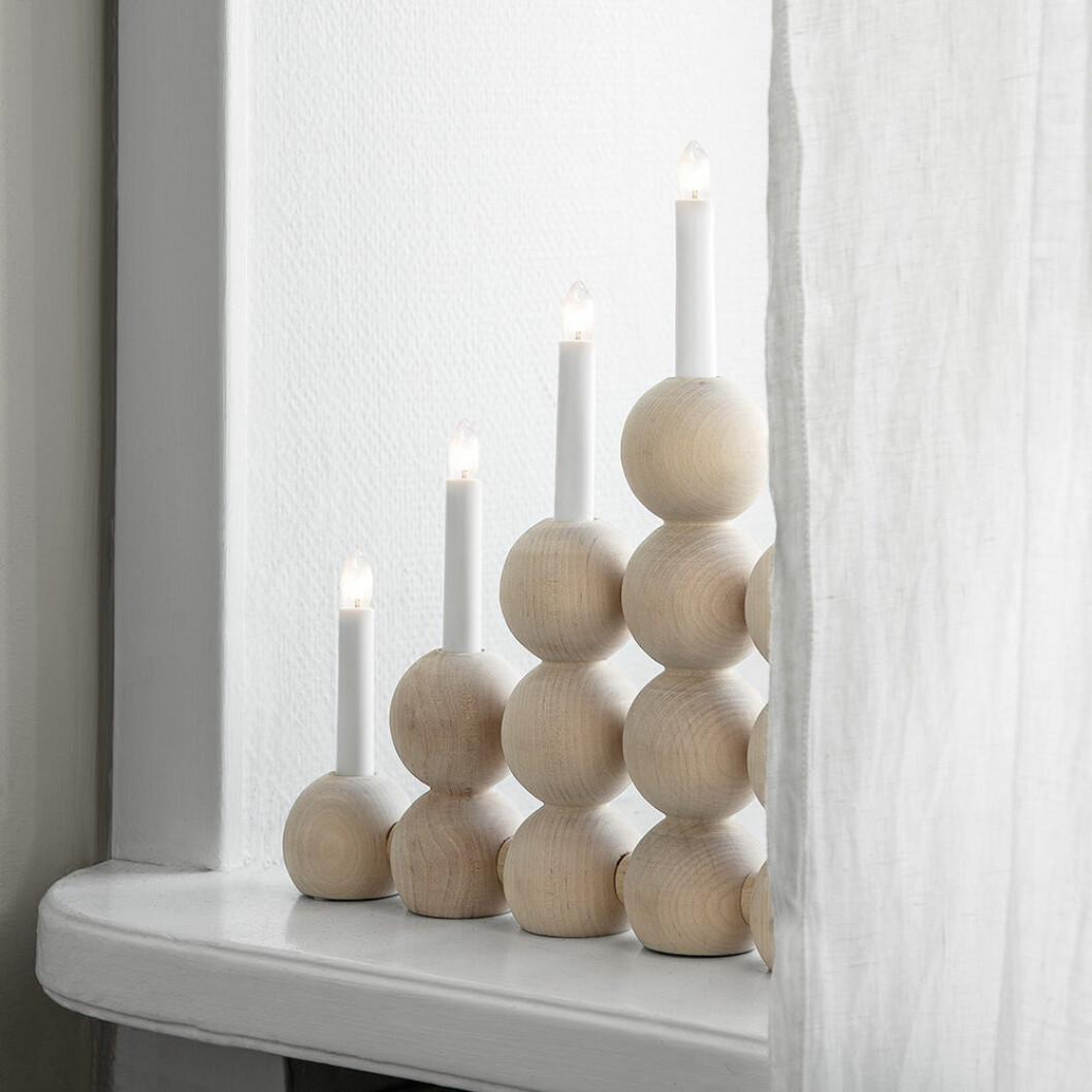 Modern elljusstake med inspiration av traditionell stil - från Granit
