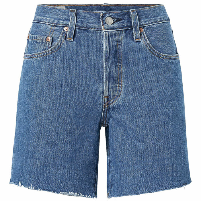 jeansshorts i modell 501 levis