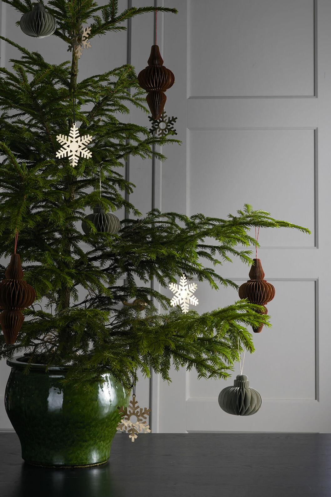 Juldekorationer hos Ellos Home julen 2019