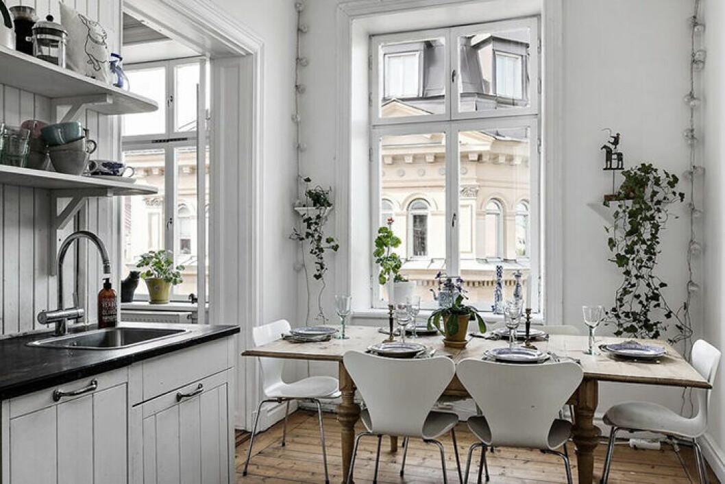 Elsa Billgren ville inte riva ut köket i den nya lägenheten