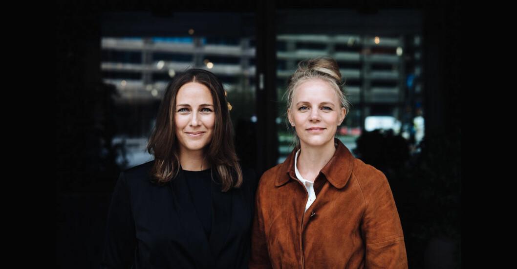 Elsa Lantz och Jenny Holmström fotograf Abraham Engelmark