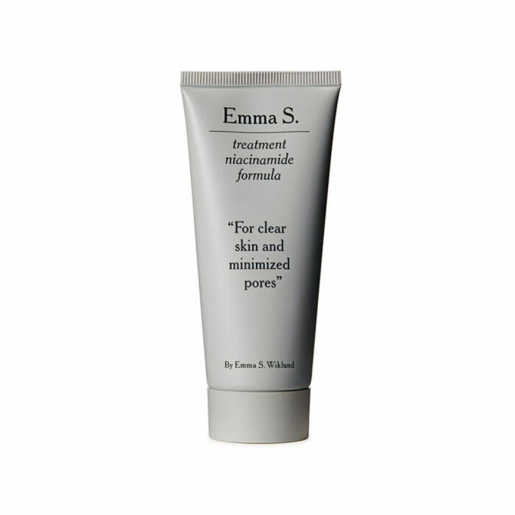 Emma S niacinamide treatment