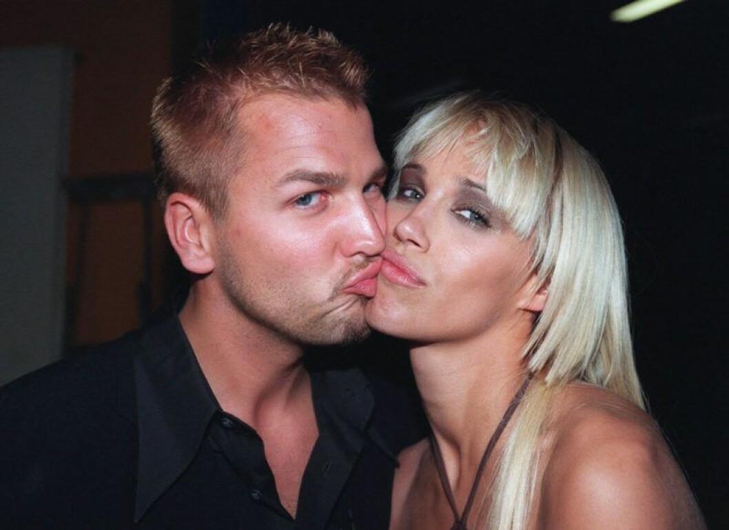 Emma Wiklund och Ulf Ekberg var ett par på 90-talet