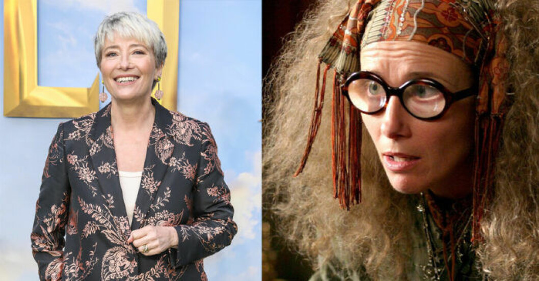 Emma Thompson i Harry Potter