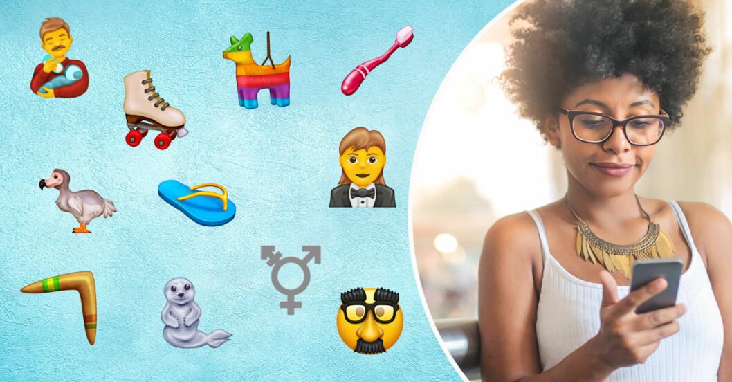 Nya emojis 2020