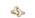 Guldring formad som en knut med små diamanter som täcker hela ringen. Ring från Engelbert.