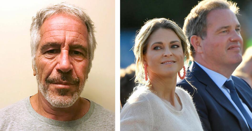 Epstein påstås ha träffat prinsessan Madeleine på en tillställning.