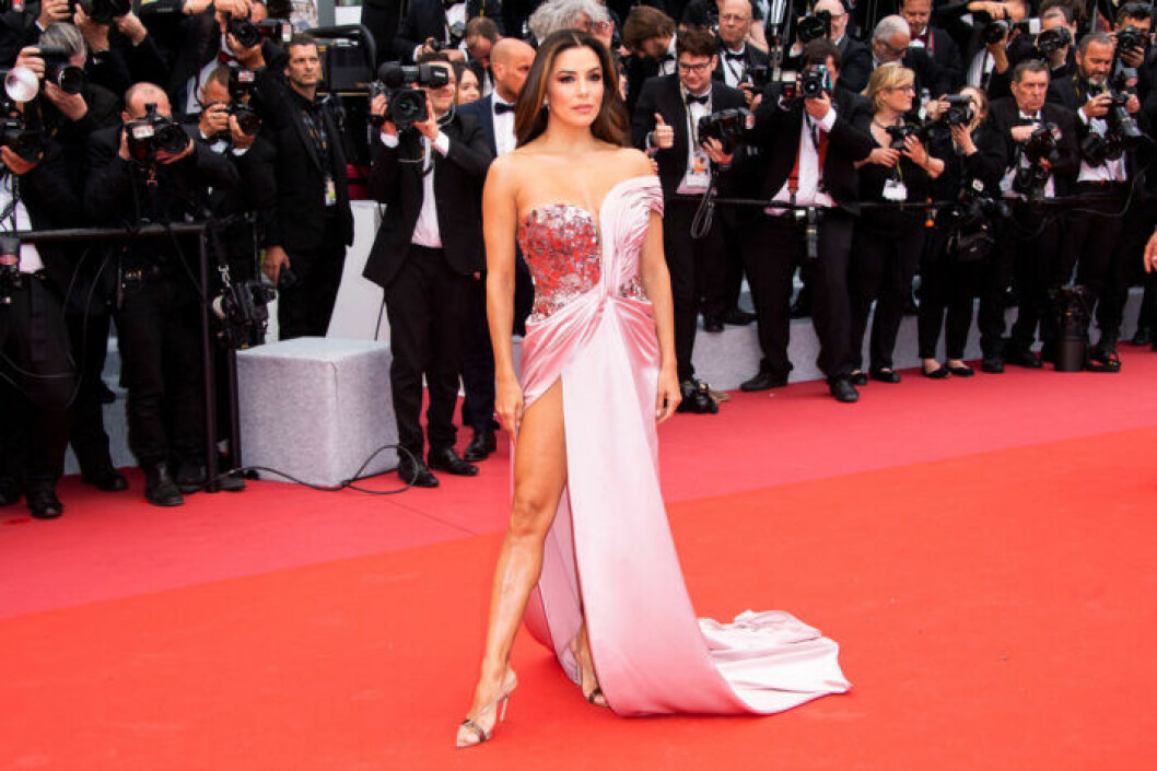 Eva Longoria på filmfestivalen i Cannes 2019