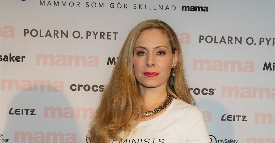 Eva Röse på Fotbollsgalan.