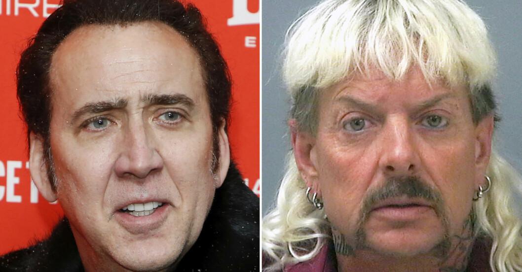 Nicolas Cage och Joe Exotic