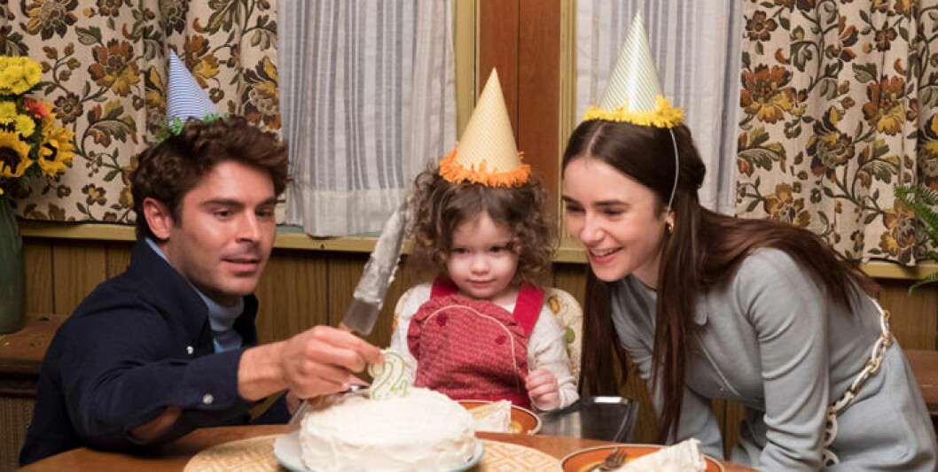 Ted Bundy (Zac Efron) och Elizabeth Kloepfer (Lily Collins) i Extremely Wicked, Shockingly Evil and Vile.