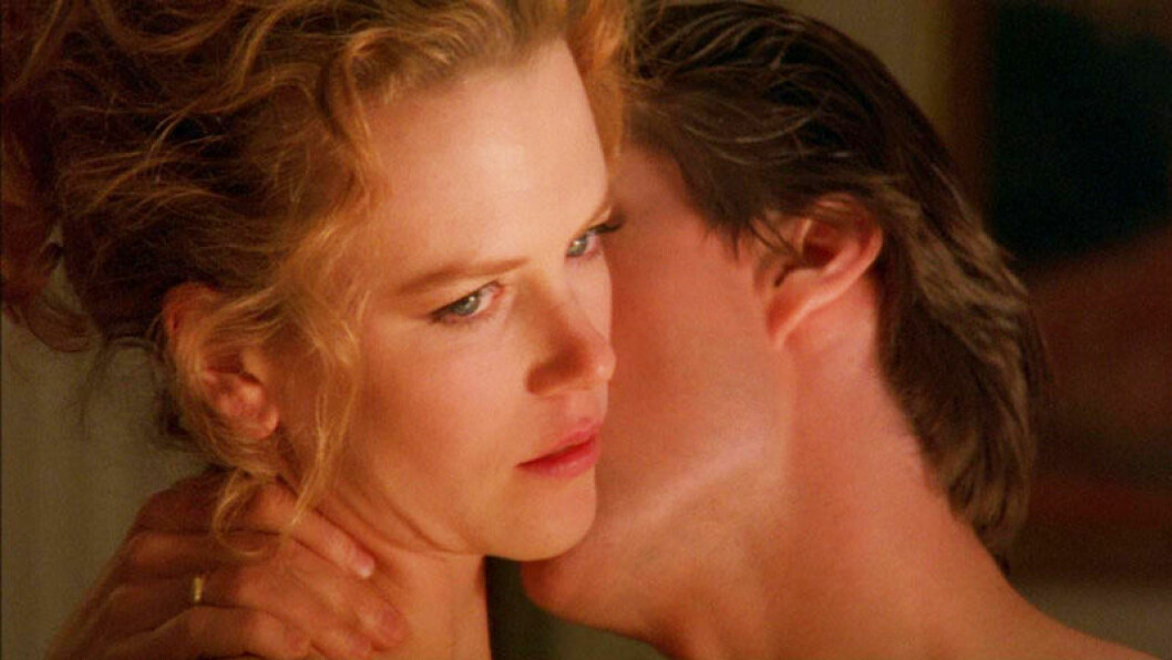 Nicole Kidman och Tom Cruise i Stanley Kubricks Eyes Wide Shut.
