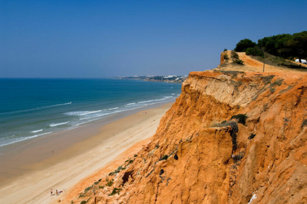 Strandtips: Falésia Beach, Portugal