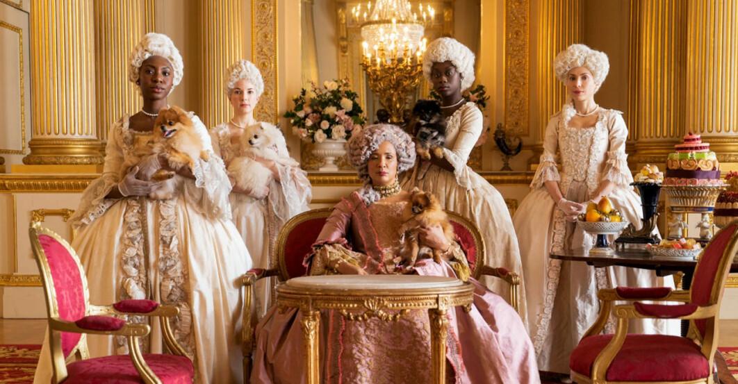 5 kvinnor från 1800-talet från tv-serien Familjen Bridgerton