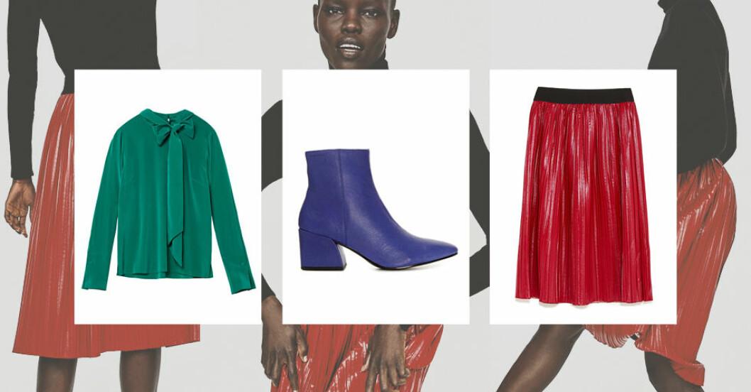 färgglada kläder