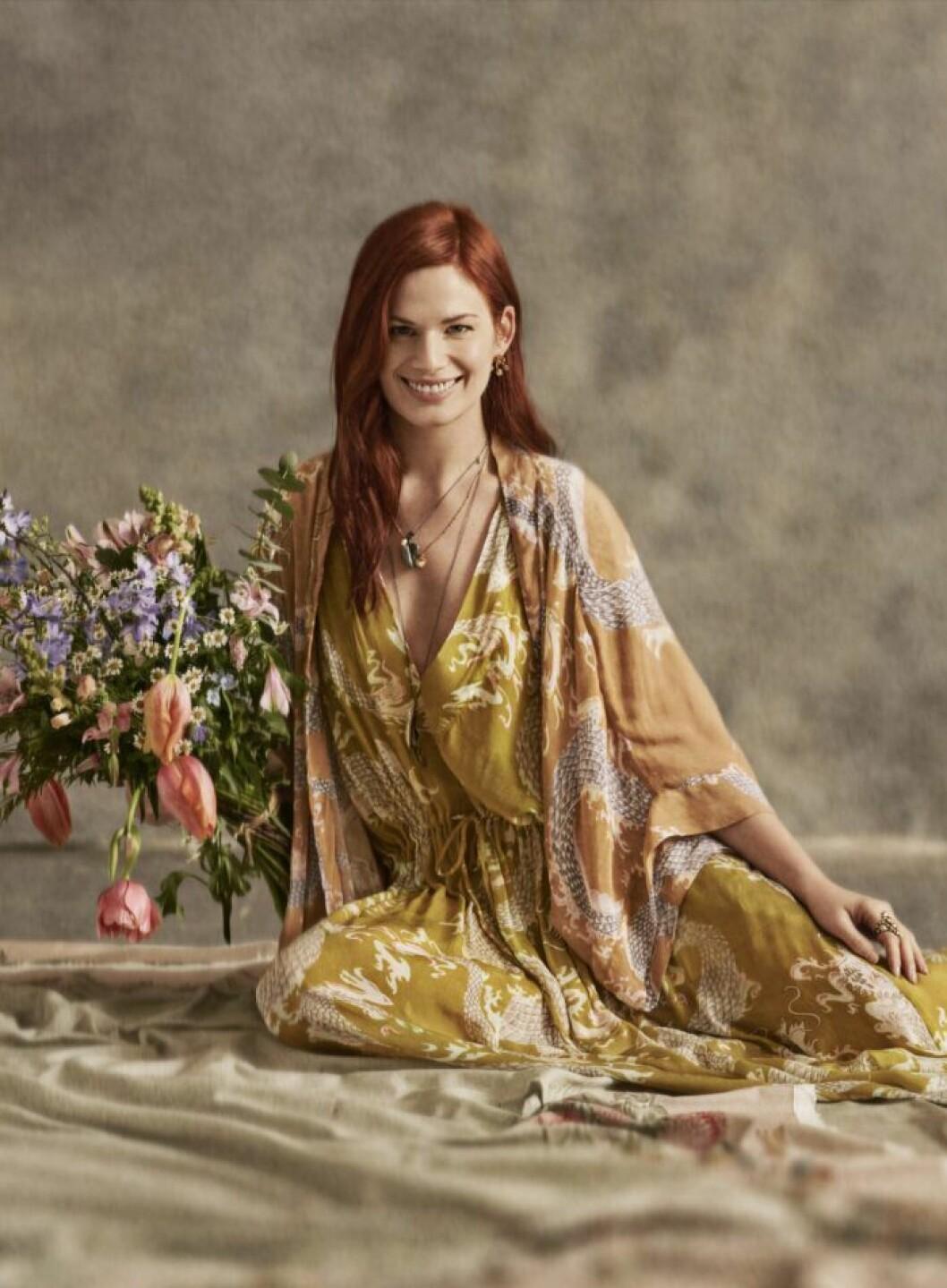 klänning och kimono
