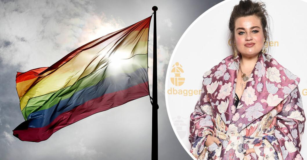 Prideflaggan föbjuds i en av skånes kommuner.