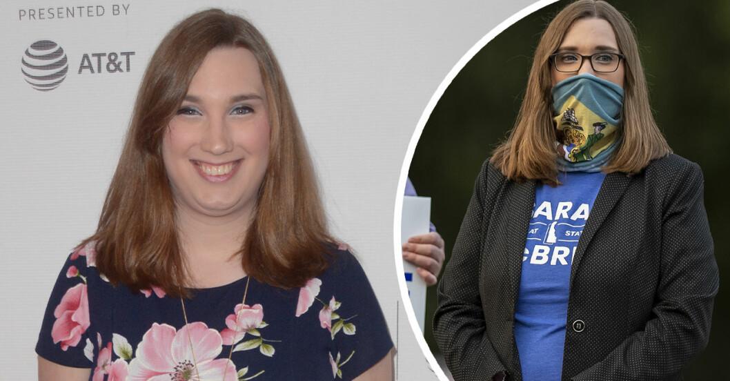 Sarah McBride – transpersonen med högst politisk position i USA