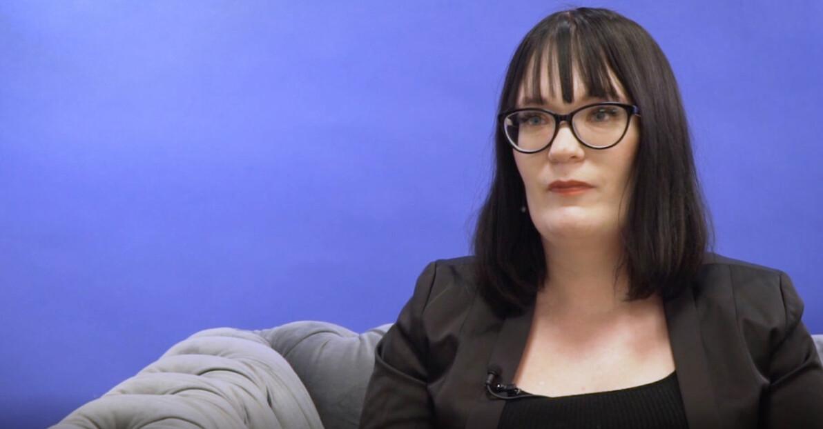 27-åriga Zoe Christiansson har tidigare varit prostituerad och missbrukare.