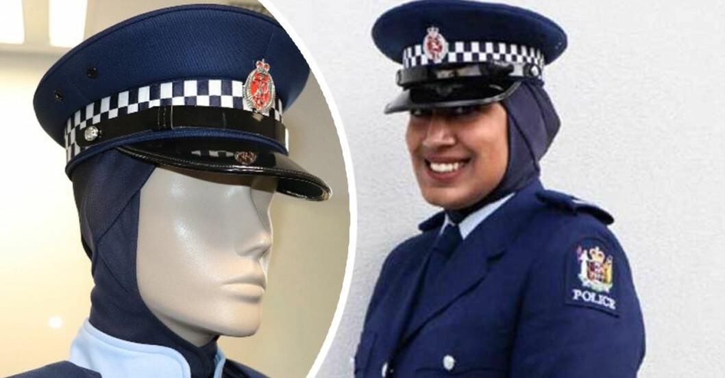 Zeena Ali hjälpte polisen i Nya Zeeland med den officiella polis-hijaben!