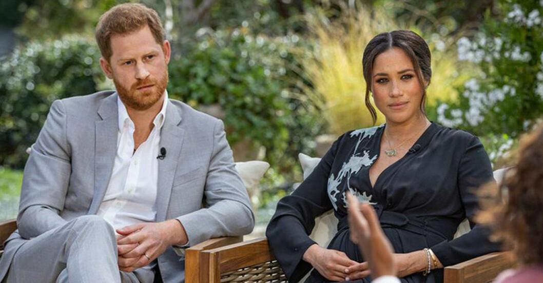 Meghan Markle, prins Harry öppnar upp om oron inom hovet - gällande deras barn eventuella hudfärg.