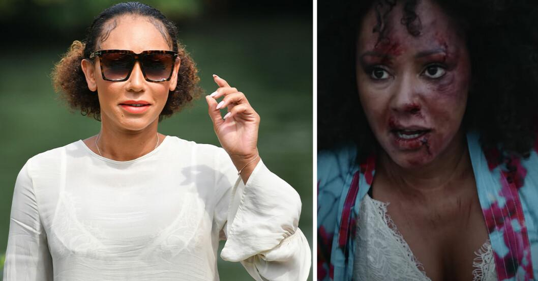 mel b uppmärksammar mäns våld mot kvinnor i ny filmS