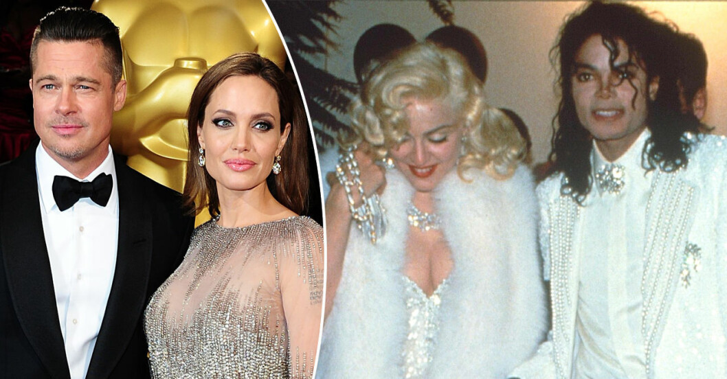Brad Pitt, Angelina Jolie, Madonna och Michael Jackson på Oscars