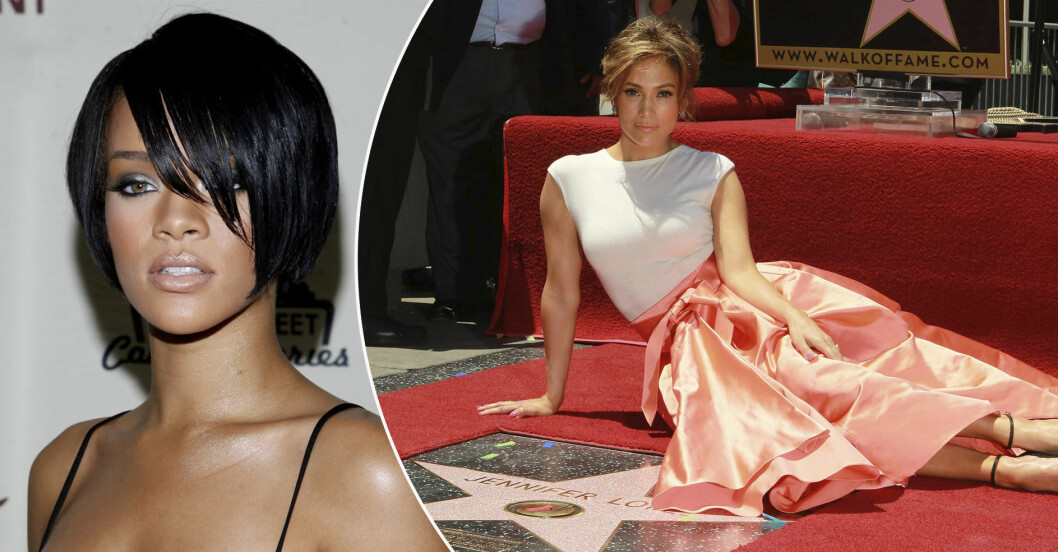 Rihanna och Jennifer Lopez