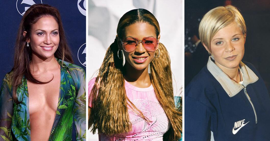 Jennifer Lopez, Beyonce och Robyn