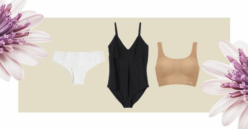Femina sömlösa underkläder