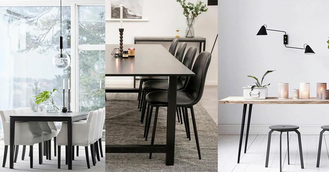 Matbord med plats för flera