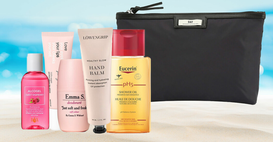 Produkter i travel size