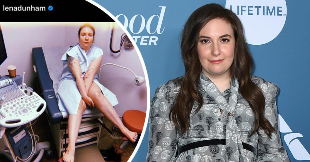 Lena Dunham misslyckades med sina IVF-försök. Efter år av sjukdom.
