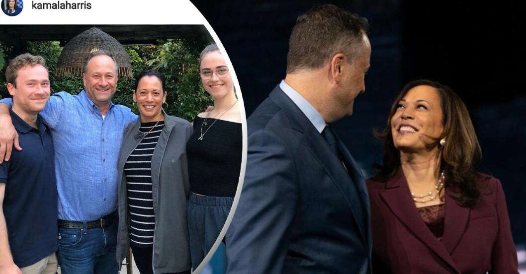 Kamala Harris vägrar kalla sig för styvmamma!