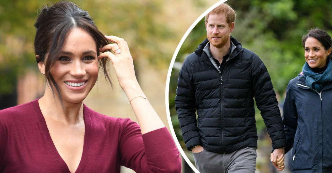 Twitter kokar över när de kungliga fansen spekulerar i Meghan Markles eventuella graviditet!
