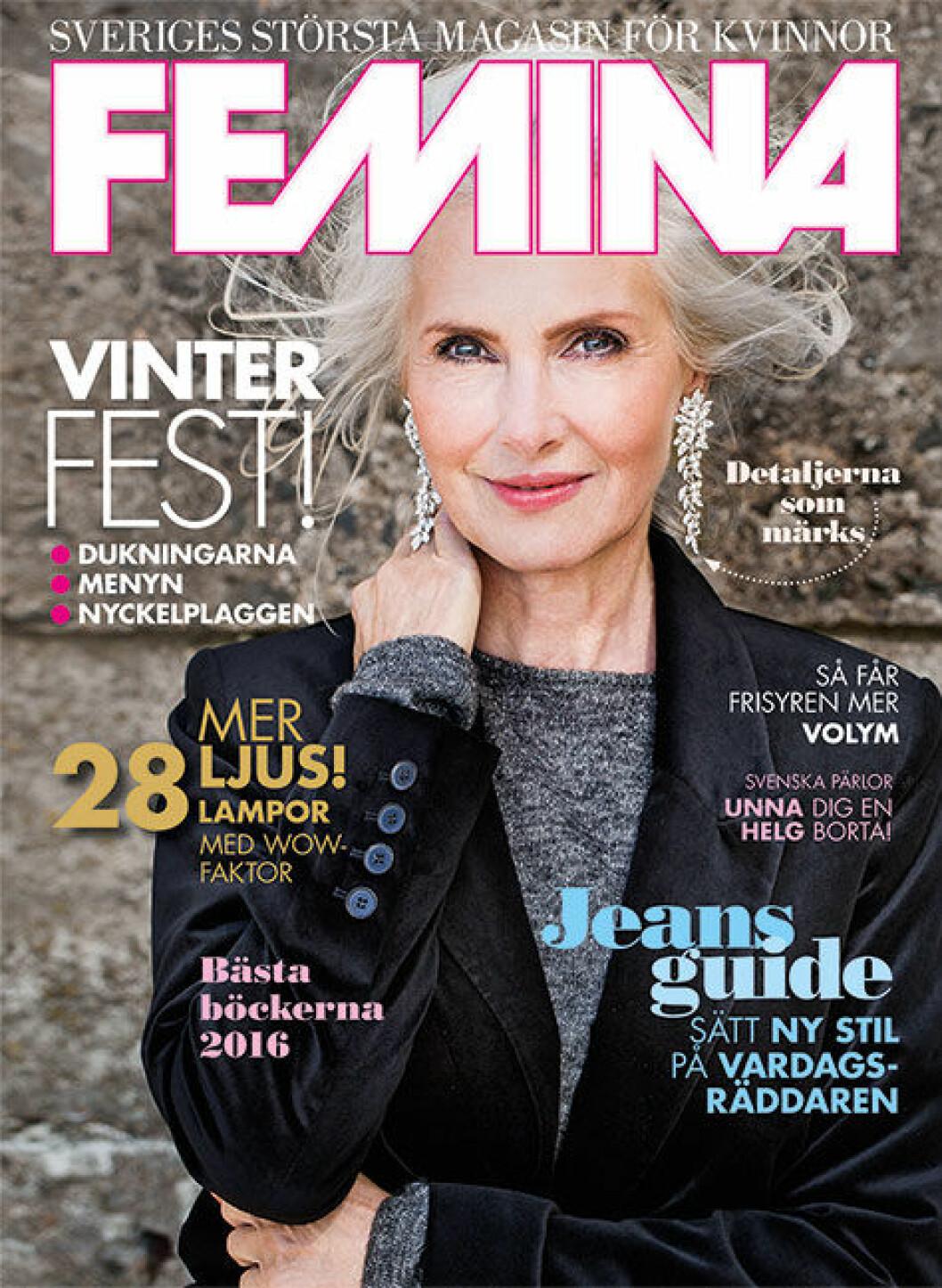 Feminas hyllade omslag till nr 1, 2016.