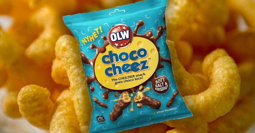 OLW Choco Cheez produktnyhet