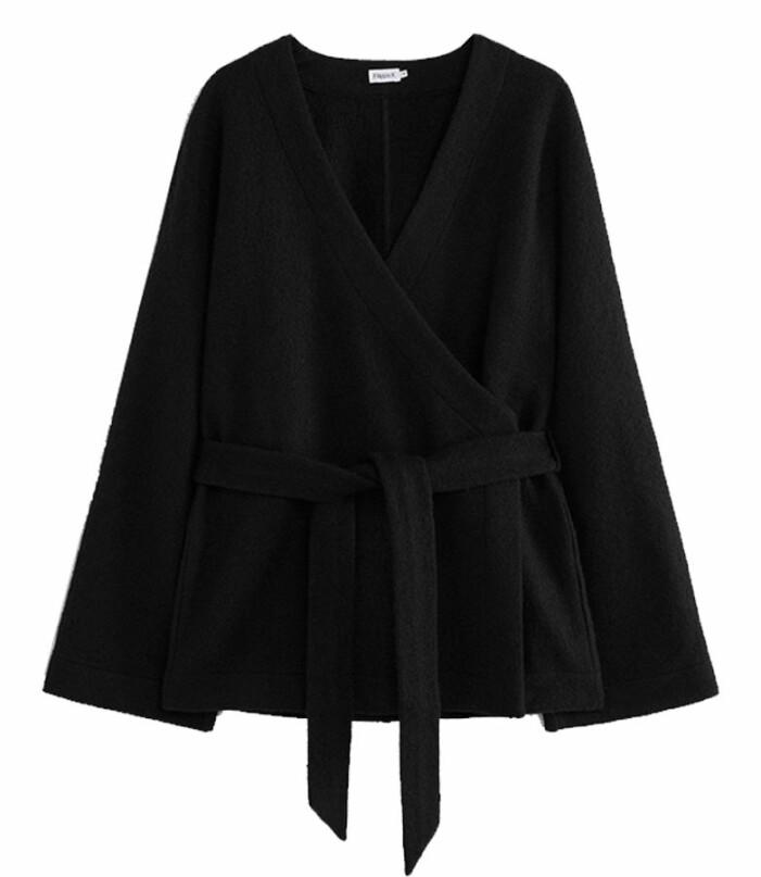 svart kimono med knytning från Filippa K