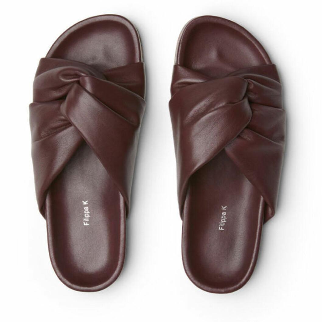 Filippa K sandaler i läder