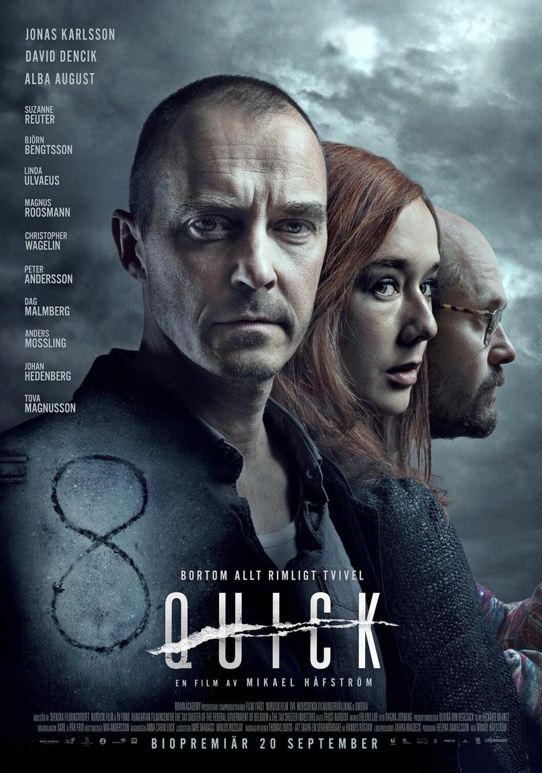 Affisch till filmen Quick