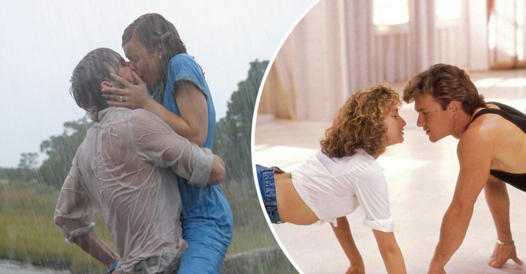 Ryan Gosling och Rachel McAdams och Swayze och Jennifer Grey