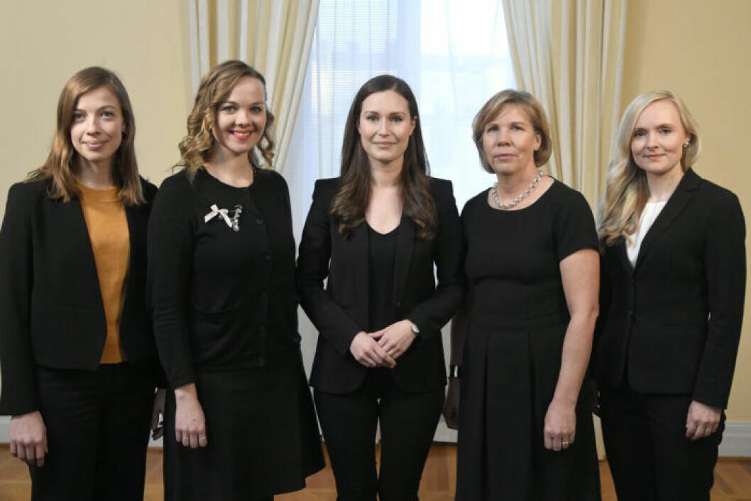 Finska kvinnliga partiledare