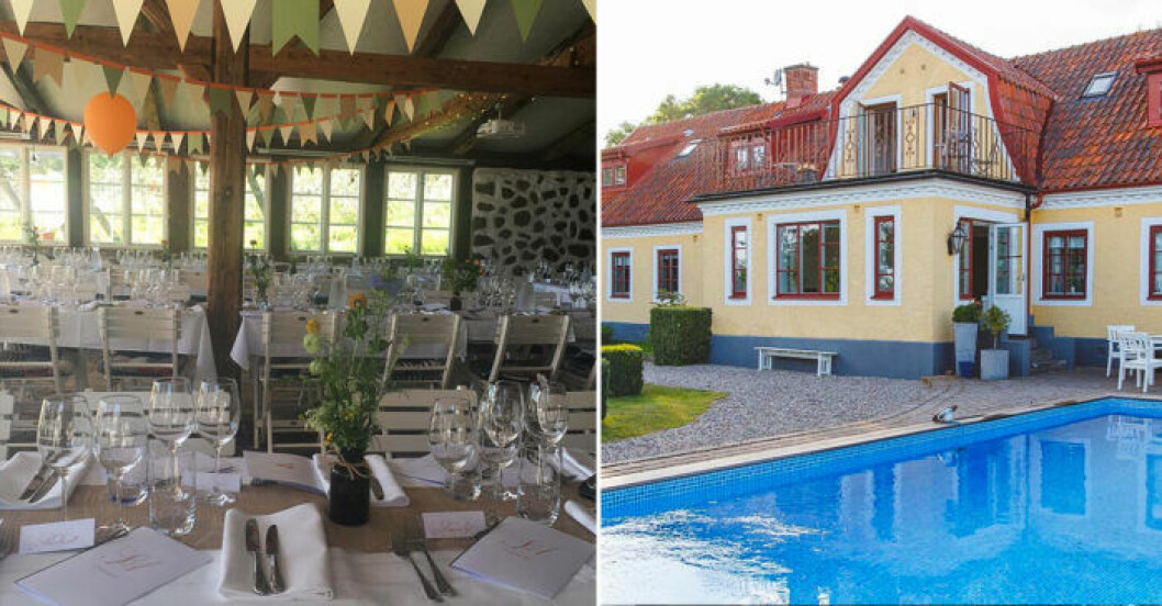 Pool och festlokal Flädie