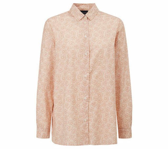 mönstrad skjorta dam