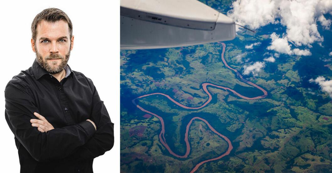 Magnus Aschan/Vy från flygplan