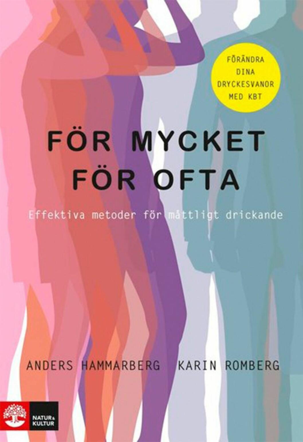 Bokomslag till För mycket för ofta, tecknade kvinnor och män.
