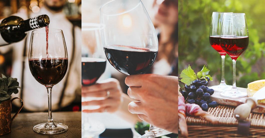Fem fördelar med rött vin